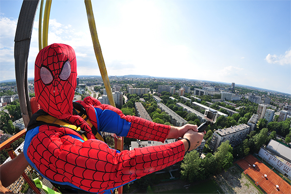 Spiderman Bungee
